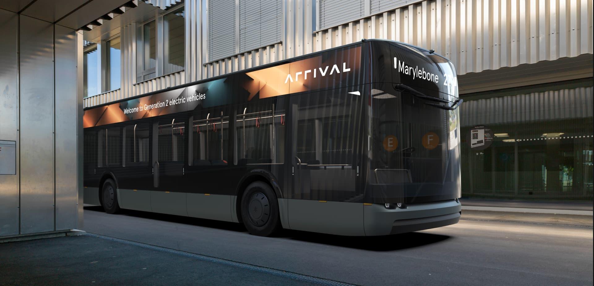 Arrival Bus Reimagines Public Transportation For A New Normal